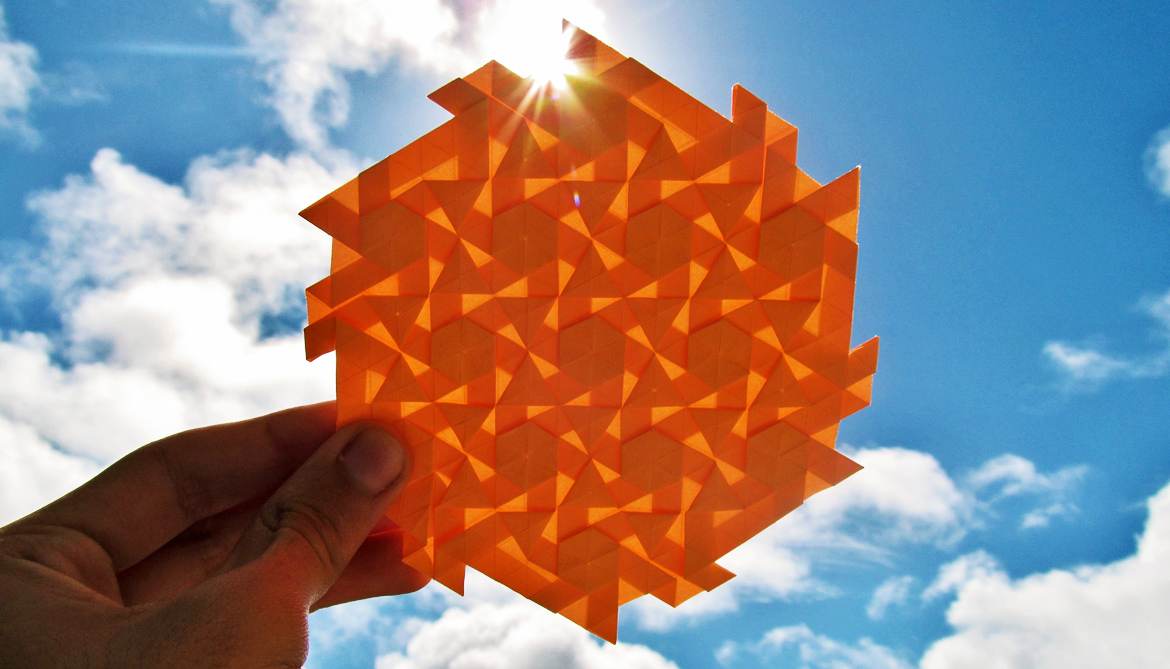 How to cut and fold 3D shapes with 'kirigami'
