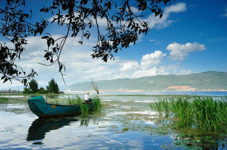 Lake Erhai, China