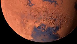 Mars elevation image