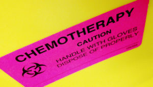 chemotherapy warning label