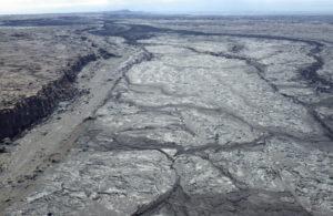 kite-view of lava