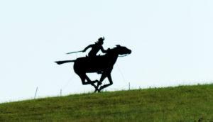 pony express silhouette
