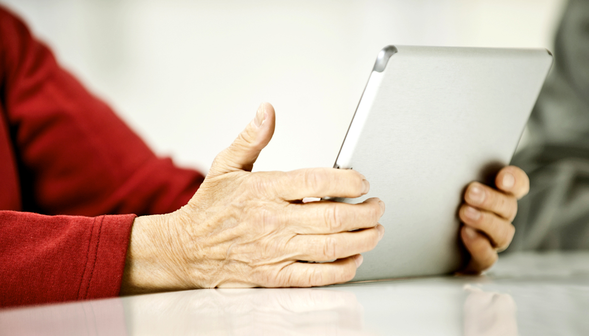 Can iPad therapy mend speech after stroke?