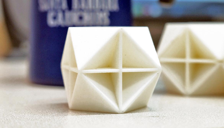 Geometry makes this foam hard to crush