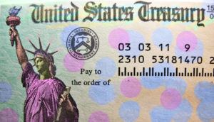 us treasury check: earned income tax credit?