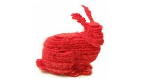3D-printed bunny