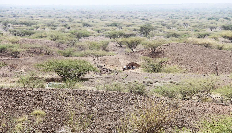 Lomekwi 3 excavation site in Kenya