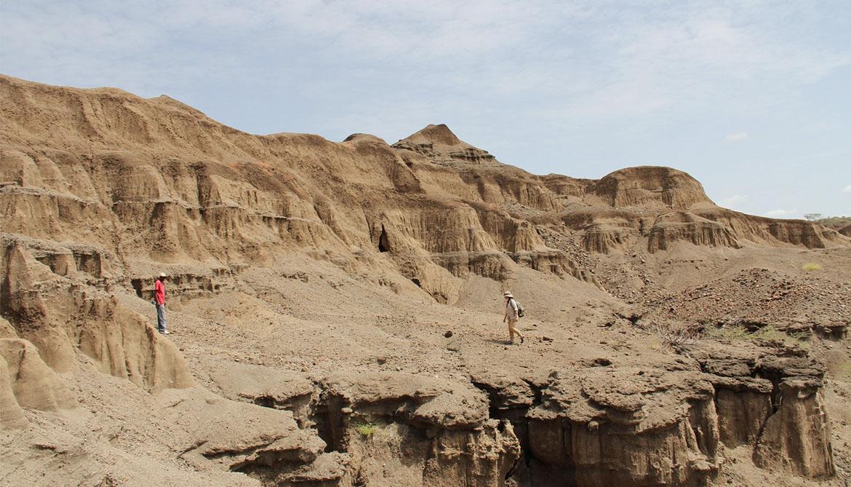 excavation site in Kenya