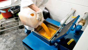 waste grease gets recycled