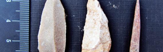 stone tool points