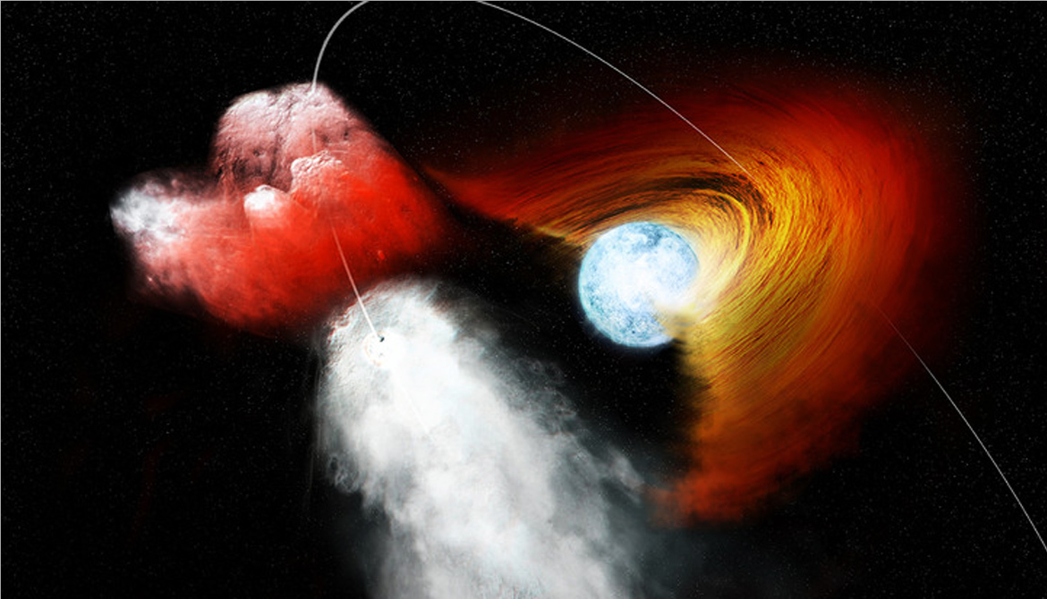 Pulsar launches 'clump' as heavy as Earth's oceans