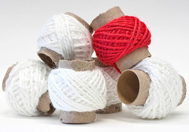 gelatin fibers spun into yarn