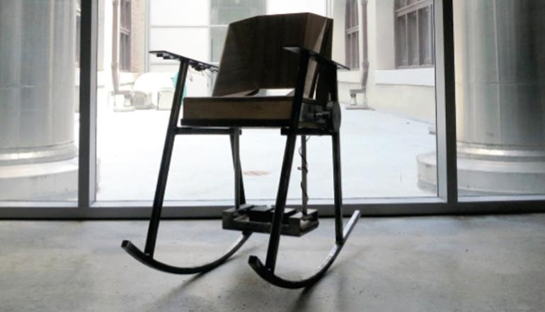 Volta rocking chair