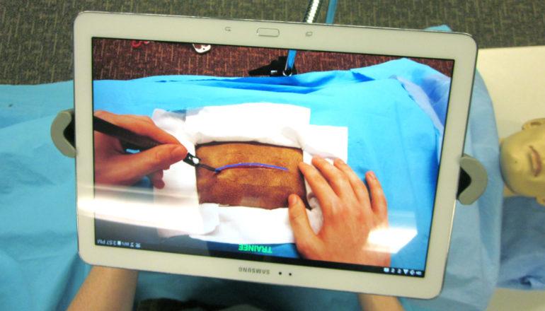 virtual reality surgery system