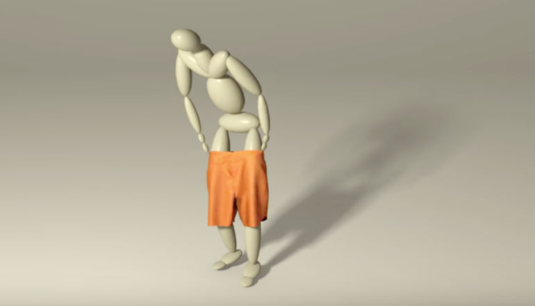 Animation tool helps people pull up virtual shorts
