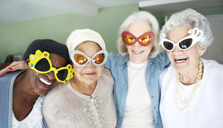 Ladies funny old Old People