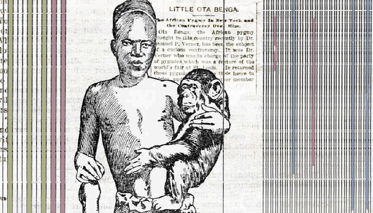 Book finds truth about man kept in the zoo
