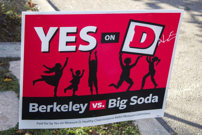 soda tax sign