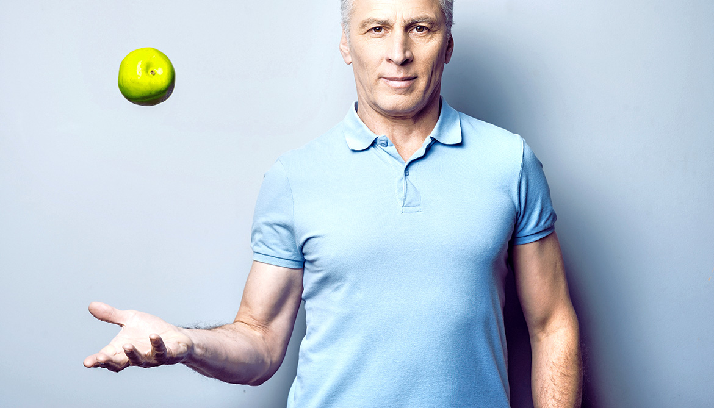 Acid in apple peel beefs up aging muscles