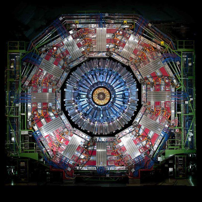 CMS detector at CERN