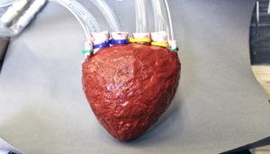 foam heart pump