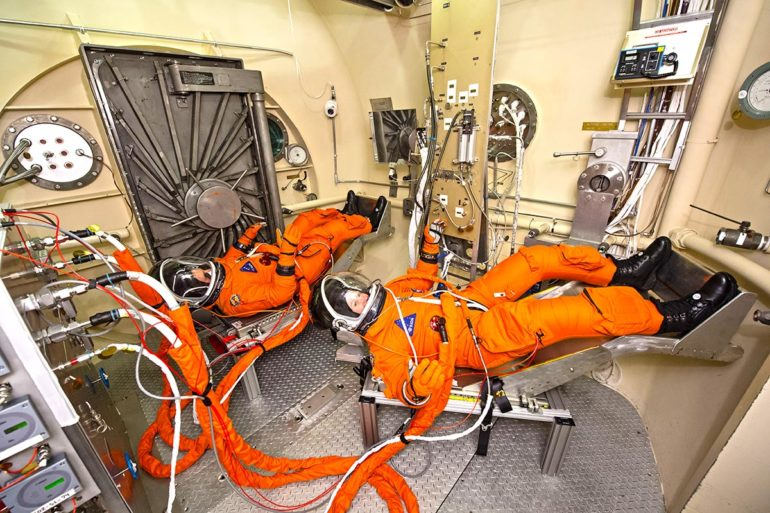 NASA tests spacesuits