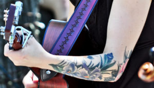 guitar and tattoos