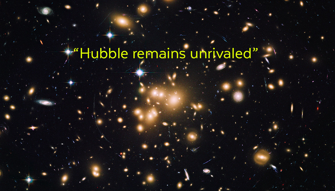 Hubble uncovers a bunch of tiny galaxies