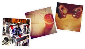 instagram drinking trio