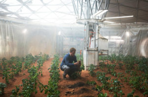 scene from the film The Martian