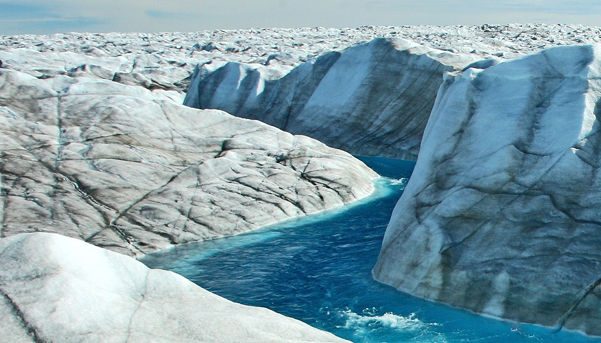 Why some of Greenland's ice sheets have slowed down