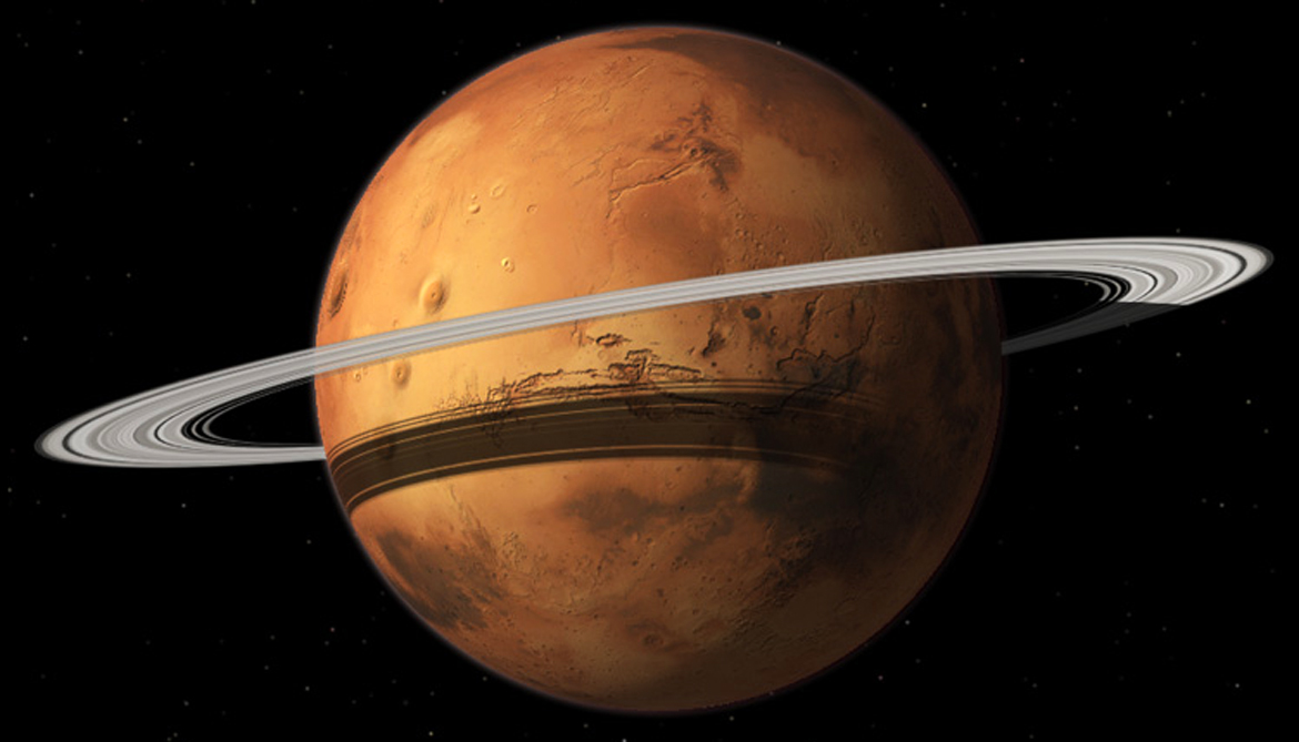 Mars to trade its moon Phobos for a ring