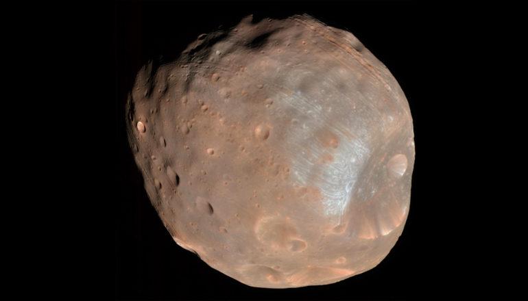Phobos the lumpy moon