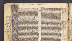 pocket bible - start of Genesis