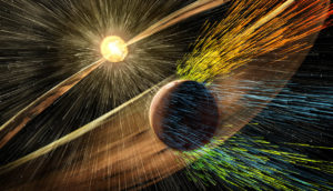 coronal mass ejection and Mars