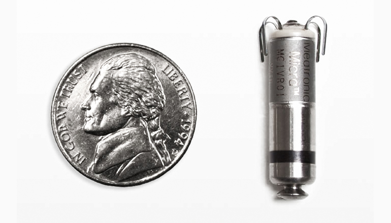 World's tiniest pacemaker implanted without surgery