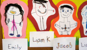 preschool kid art