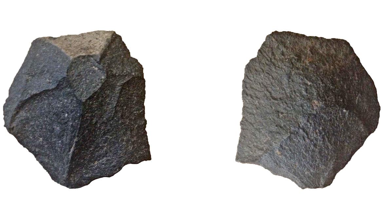 basalt wedge from Monte Verde