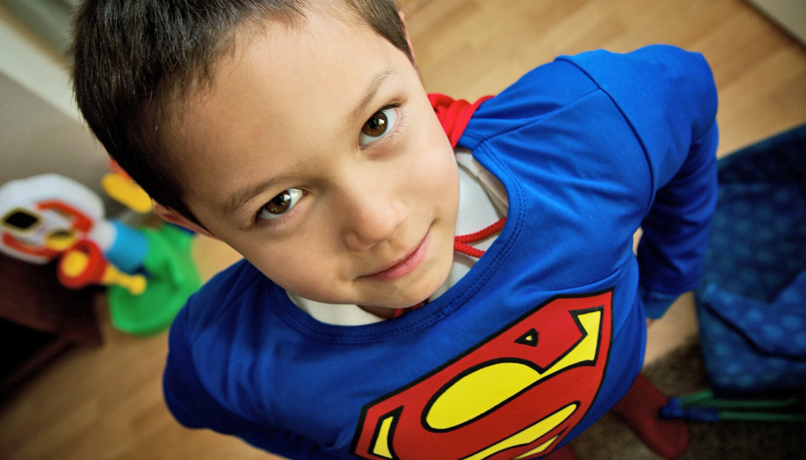 Kids know if they're 'super' by age 5