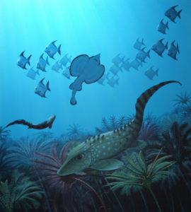 tiny fish after extinction