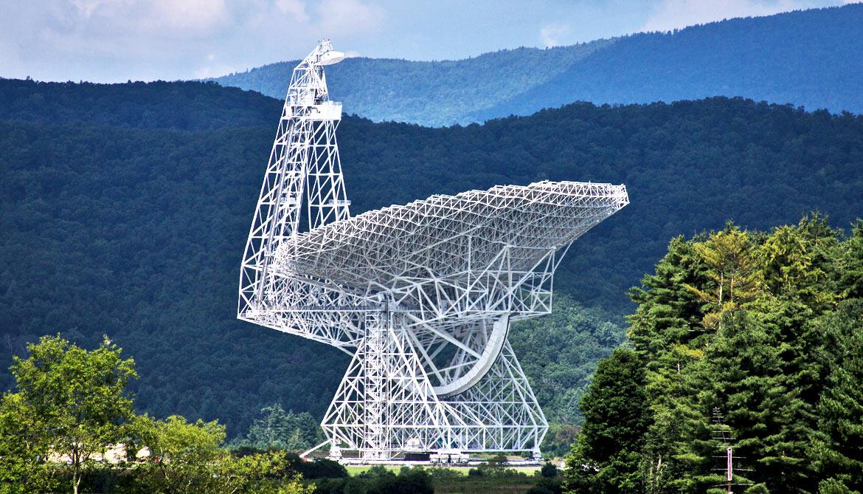 Green Bank Telescope 1170.