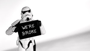 star wars stormtrooper figurine