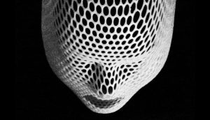 radiation mask black & white