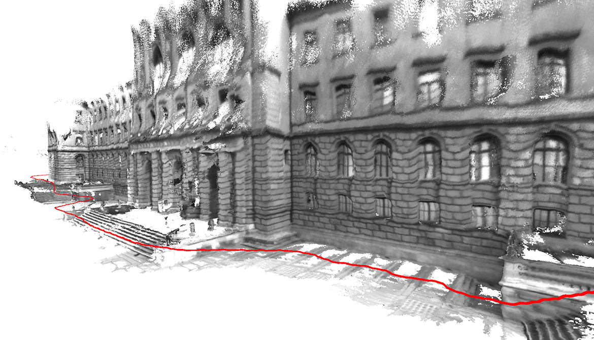 Software makes 3d maps of buildings in real time futurity for Building mapping software