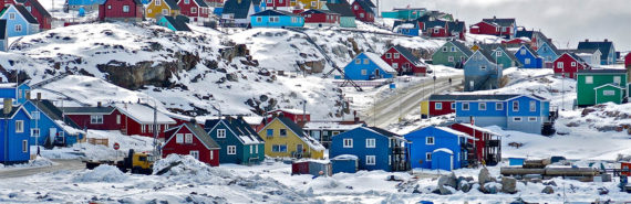 Arctic village