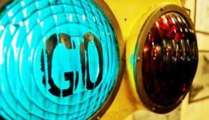 """""""Go"""" green light"""