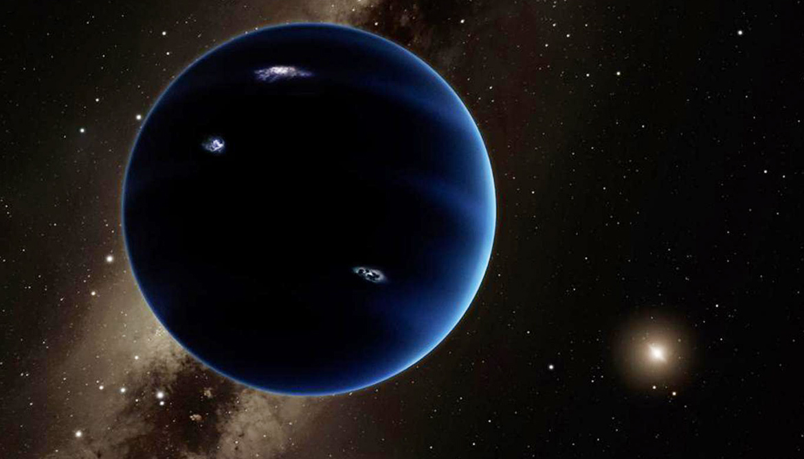 'Planet Nine' is 5,000X the mass of Pluto