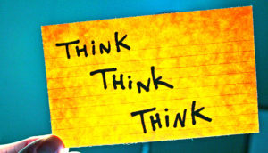 think think think card