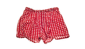 red boxer shorts