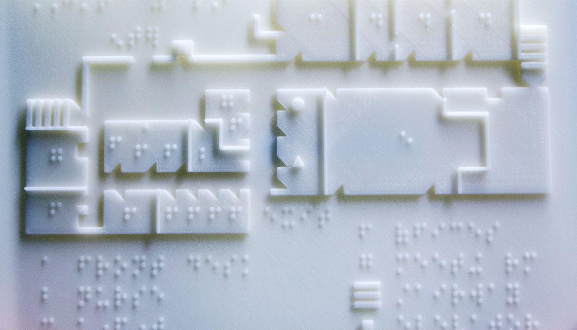 A 3d Printer Made This Braille Map Futurity